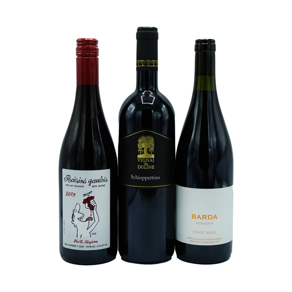 Pre-Dinner Red 3-pack from Other - Parcelle Wine