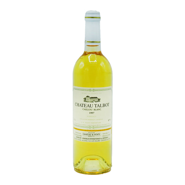 Château Talbot, 'Caillou' Sauvignon Blanc 1997 from Château Talbot - Parcelle Wine
