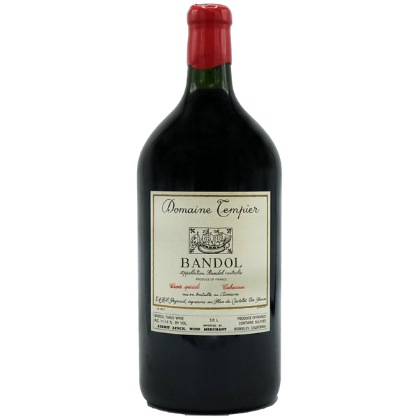 Tempier, 'Cuvée Tourtine' Bandol 1994 Magnum from Tempier - Parcelle Wine