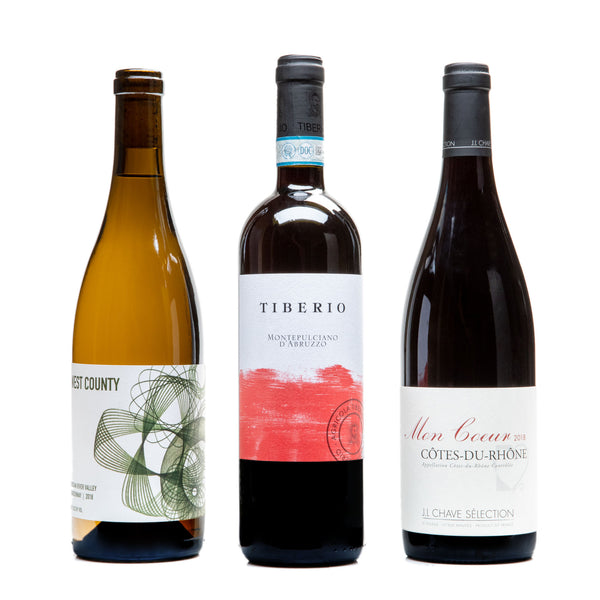 Thanksgiving 3-pack from Parcelle - Parcelle Wine