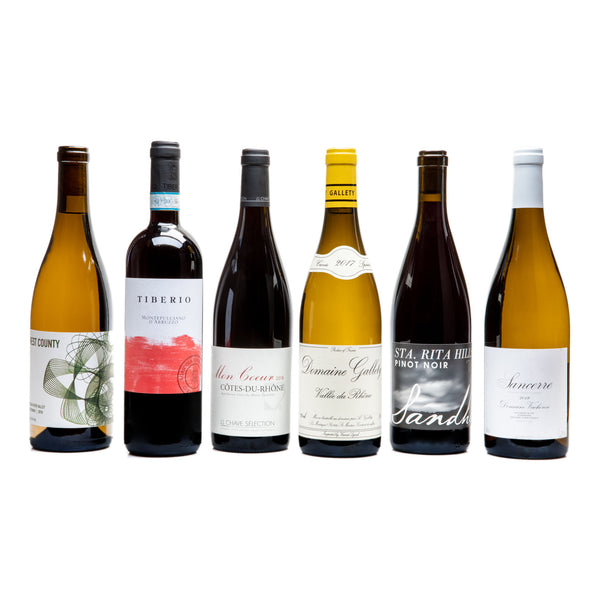 Thanksgiving 6-pack from Parcelle - Parcelle Wine