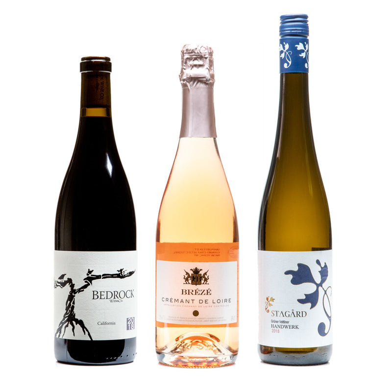 Traditional 3-Pack from Parcelle - Parcelle Wine