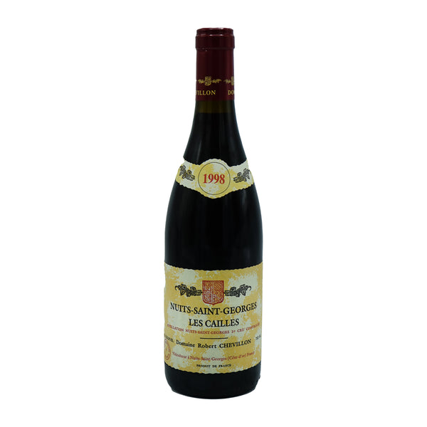R. Chevillon, 'Cailles' 1er Cru Nuits-St-Georges 1998 from R. Chevillon - Parcelle Wine