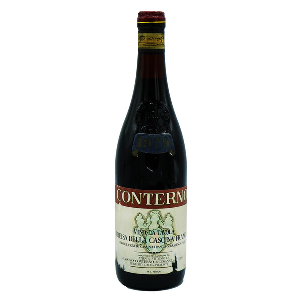 G. Conterno, 'Cascina Francia' Freisa 1979 from G. Conterno - Parcelle Wine