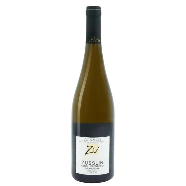 Zusslin, 'Clos Liebenberg' Riesling 2014 from Zusslin - Parcelle Wine