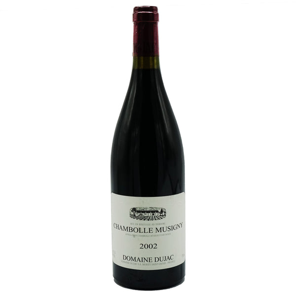 Domaine Dujac, Chambolle-Musigny 2002 from Dujac - Parcelle Wine