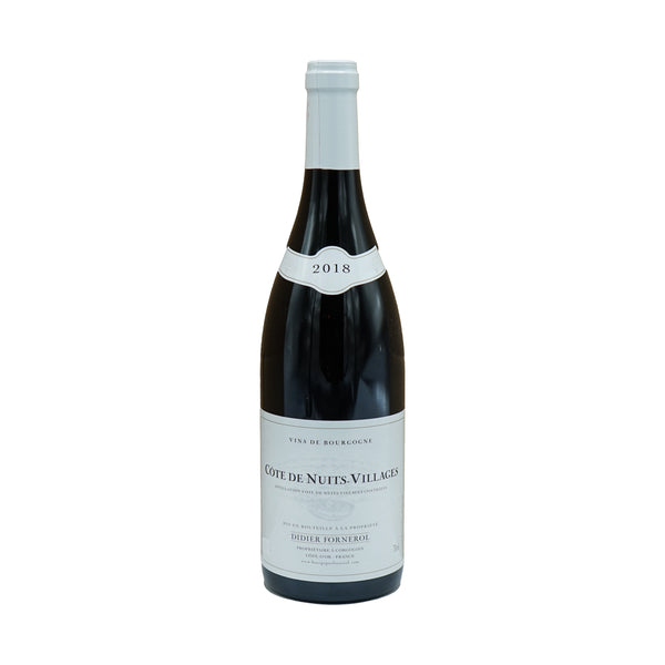Domaine Didier Fornerol, Côte de Nuits-Villages 2018 from Didier Fornerol - Parcelle Wine