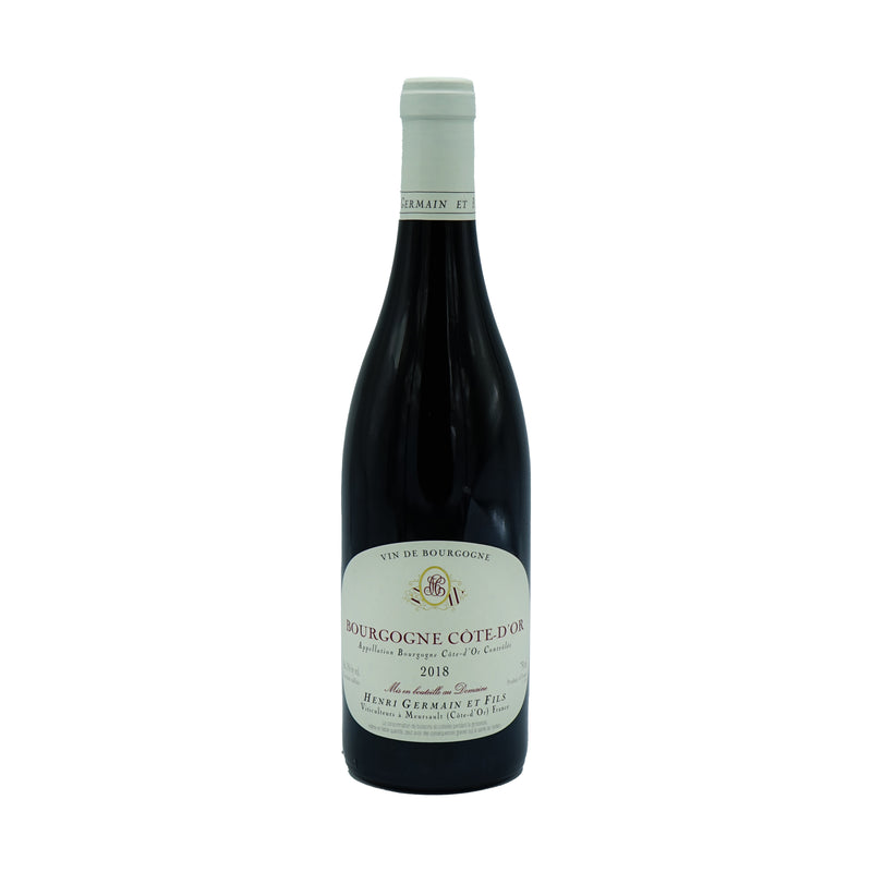 Henri Germain, Bourgogne Rouge 2018 from Henri Germain - Parcelle Wine