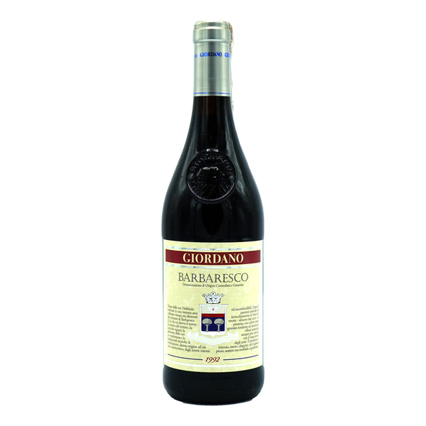 Giordano, Barbaresco 1992 from Giordano - Parcelle Wine