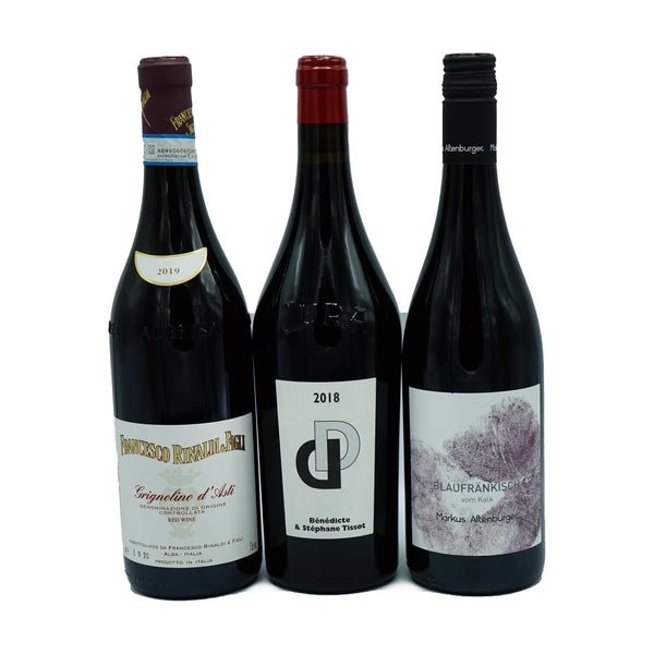 Light Red Wine 3-pack from Parcelle - Parcelle Wine