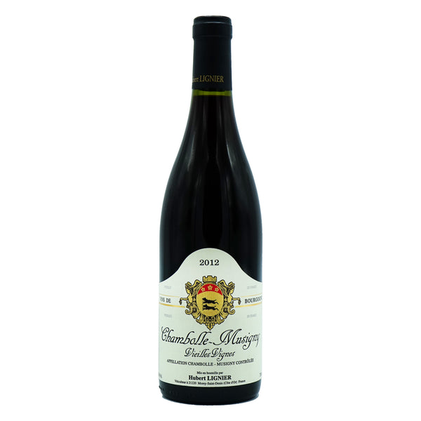 H. Lignier, 'VV' Chambolle-Musigny 2012 from H. Lignier - Parcelle Wine