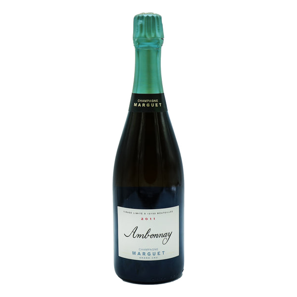 Marguet, Grand Cru Ambonnay Extra Brut 2011 from Marguet - Parcelle Wine