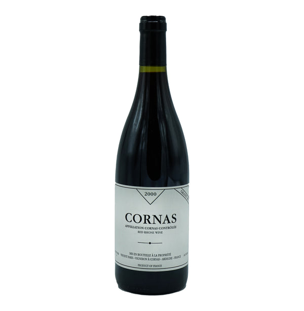 Vincent Paris, 'Granit 60' Cornas 2000 from Vincent Paris - Parcelle Wine