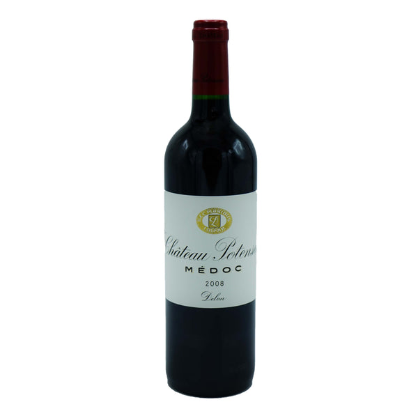 Château Potensac, Medoc 2008 from Château Potensac - Parcelle Wine