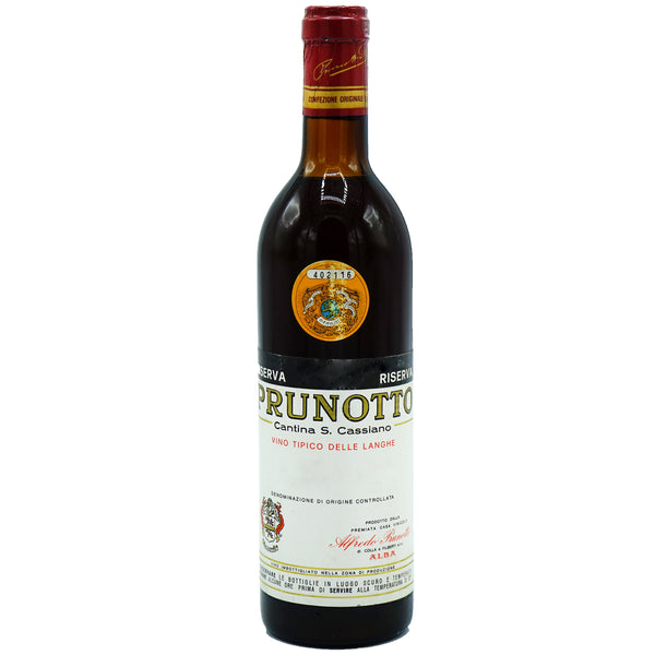 Prunotto, Barbaresco Riserva 1970 from Prunotto - Parcelle Wine