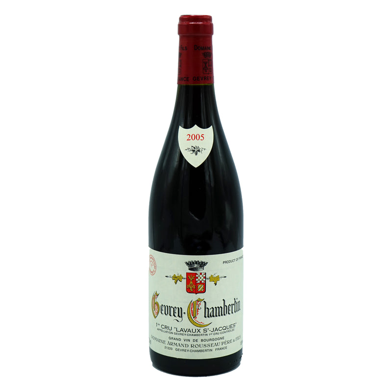 A. Rousseau, 'Lavaux St.-Jacques' 1er Cru Gevrey-Chambertin 2005 from A. Rousseau - Parcelle Wine
