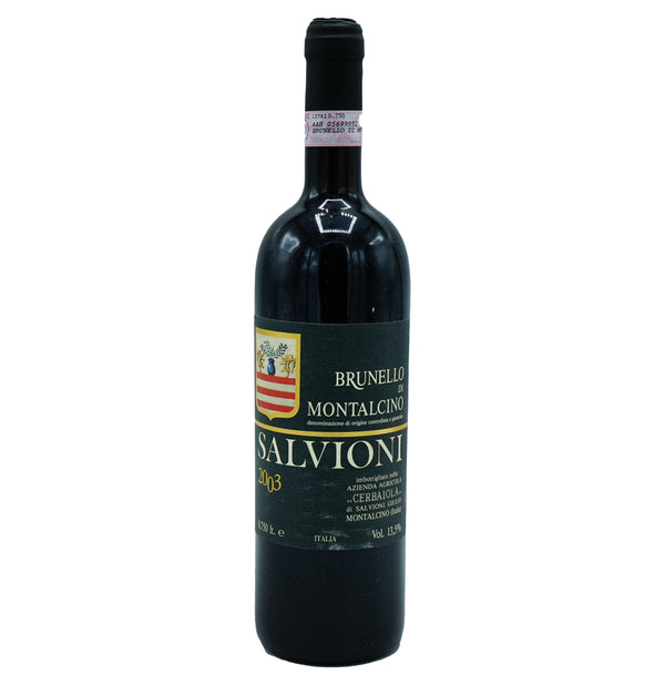 Salvioni, 'Cerbaiola' Brunello di Montalcino 2003 from Salvioni - Parcelle Wine