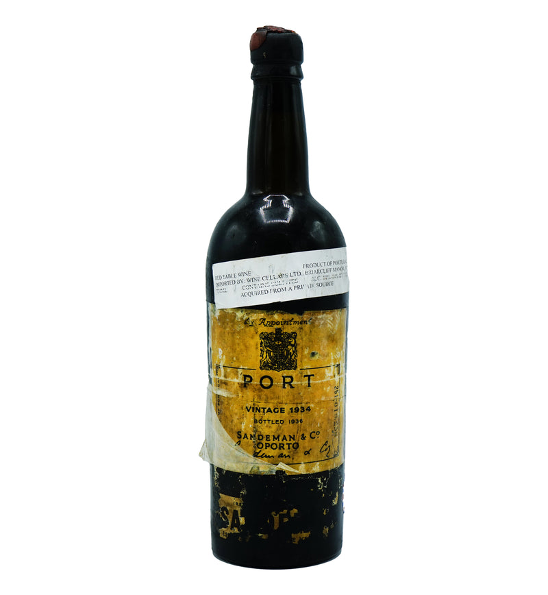 Sandeman Port 1934 from Other - Parcelle Wine