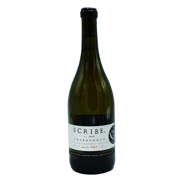 Scribe, Chardonnay Carneros 2016 from Scribe - Parcelle Wine