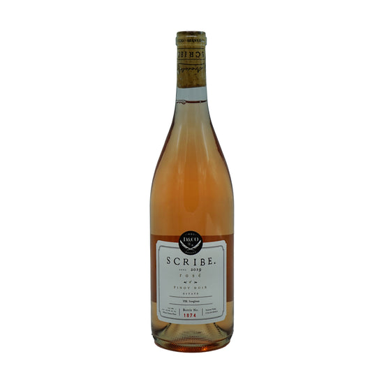 Scribe Winery, Rosé of Pinot Noir Estate Carneros 2019 from Scribe - Parcelle Wine