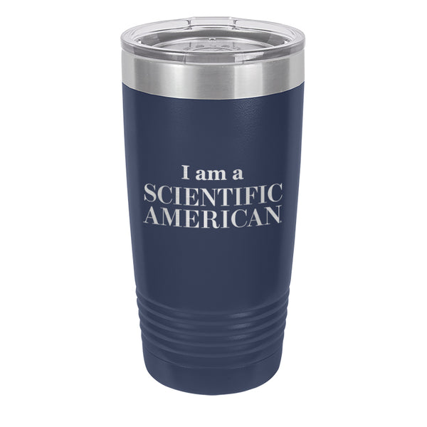 I Am A Scientific American Laser Etched Tumbler