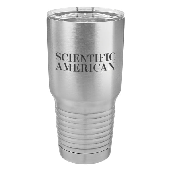 Scientific American Logo Laser Etched Tumbler