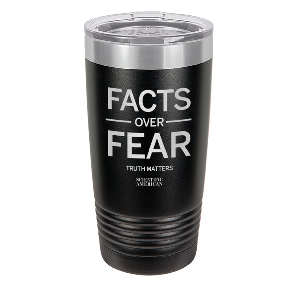 Facts Over Fear Laser Etched Tumbler