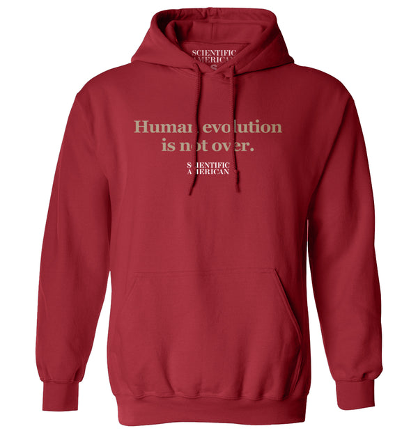 Human Evolution Is Not Over Headline Apparel
