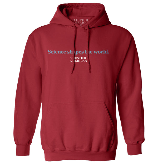 Science Shapes The World Linear Design Apparel