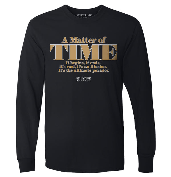 A Matter Of Time Cover Print Apparel