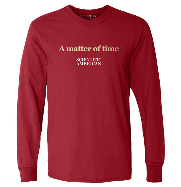 A Matter Of Time Headline Apparel