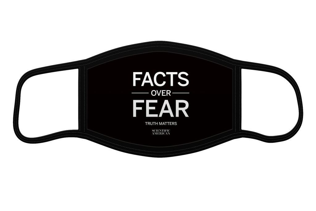 Facts Over Fear - Reusable Face Mask
