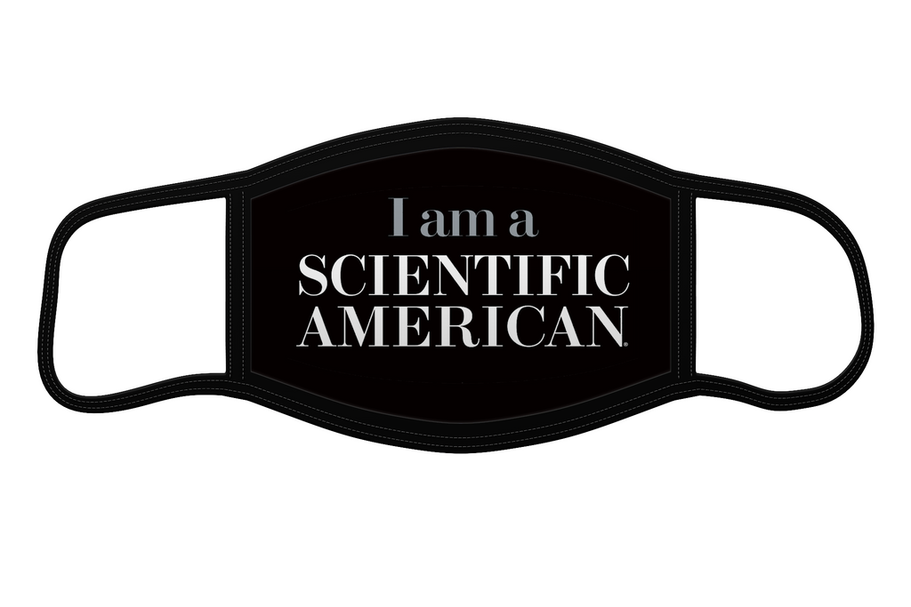I Am A Scientific American - Reusable Face Mask