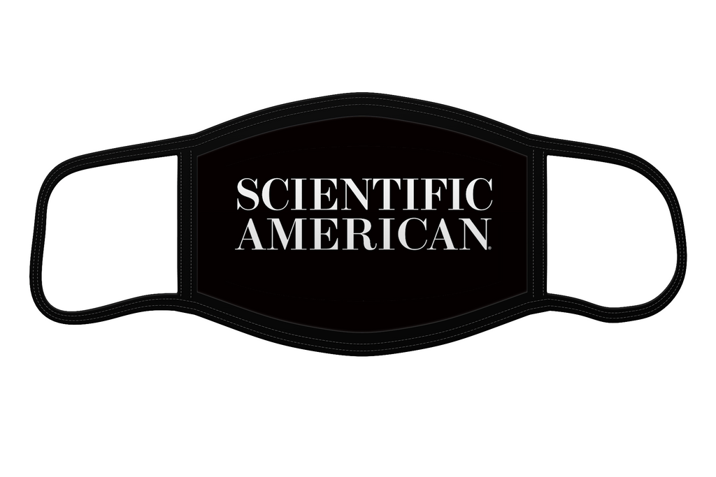 Scientific American Logo - Reusable Face Mask