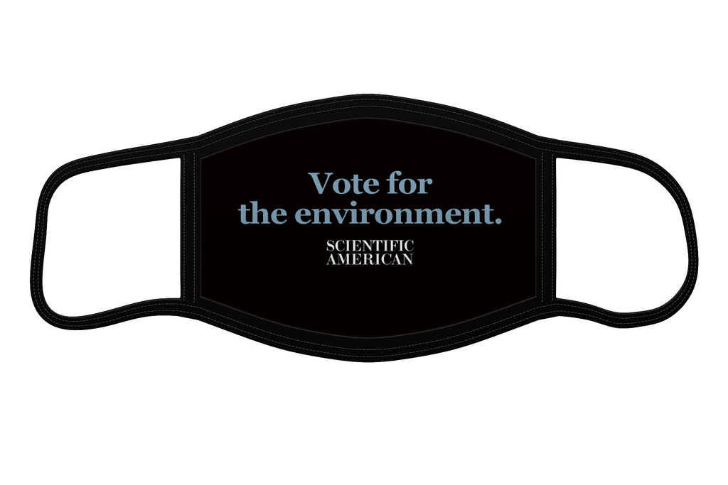 Vote for the Environment - Reusable Face Mask