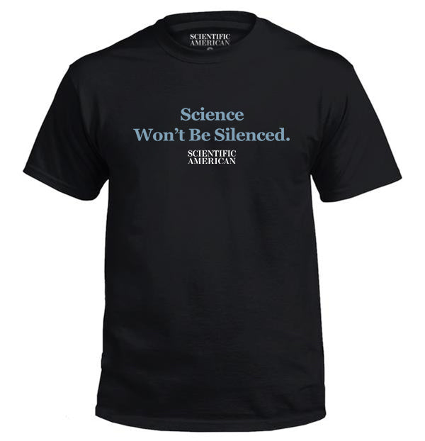 Science Won't Be Silenced Apparel