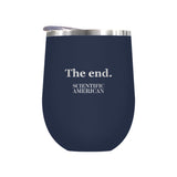 The End Headline Laser Etched Tumbler