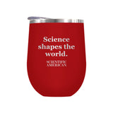 Science Shapes The World Linear Design Laser Etched Tumbler
