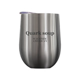 Quark Soup Headline Laser Etched Tumbler