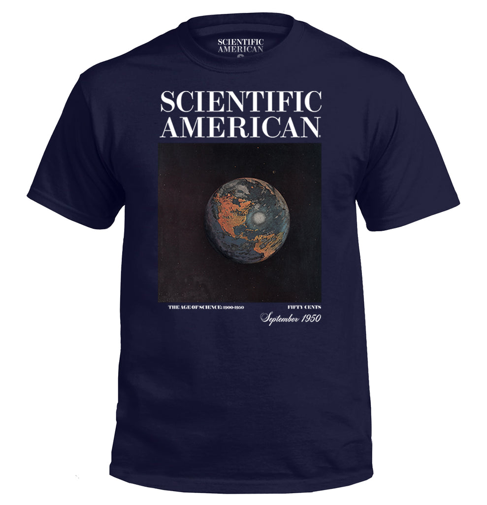 Earth from Space Vintage Print Apparel