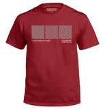 Turing Pattern Linear Vintage Print Apparel