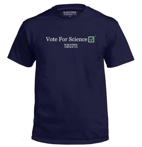Vote for Science Checkbox Apparel