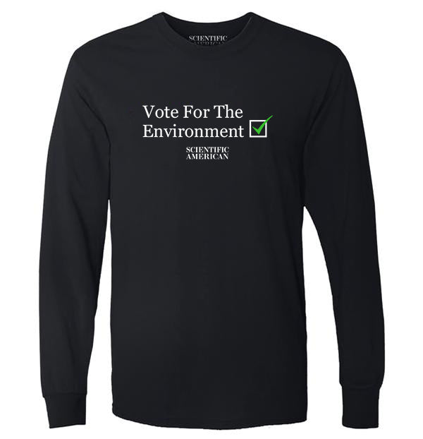 Vote for the Environment Checkbox Apparel