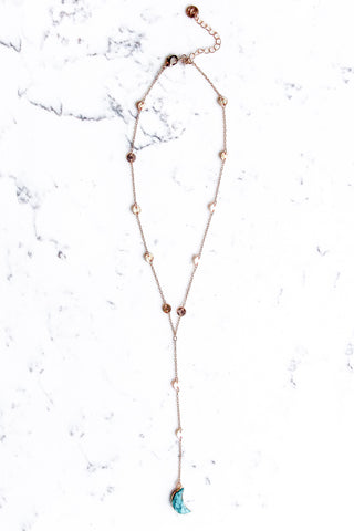 The Turquiose Moon Necklace
