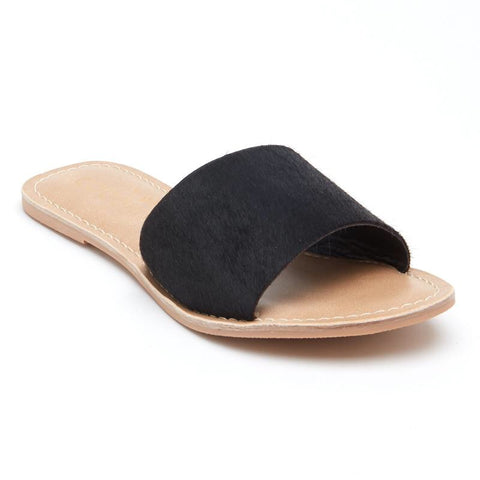 Cabana Cowhide Sandals