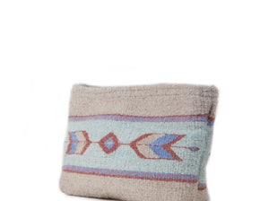 Sagebrush + Sand Wool Clutch by MZ Fair Trade
