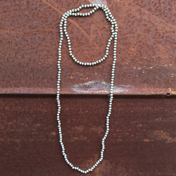 Small Crystal Beaded Necklace