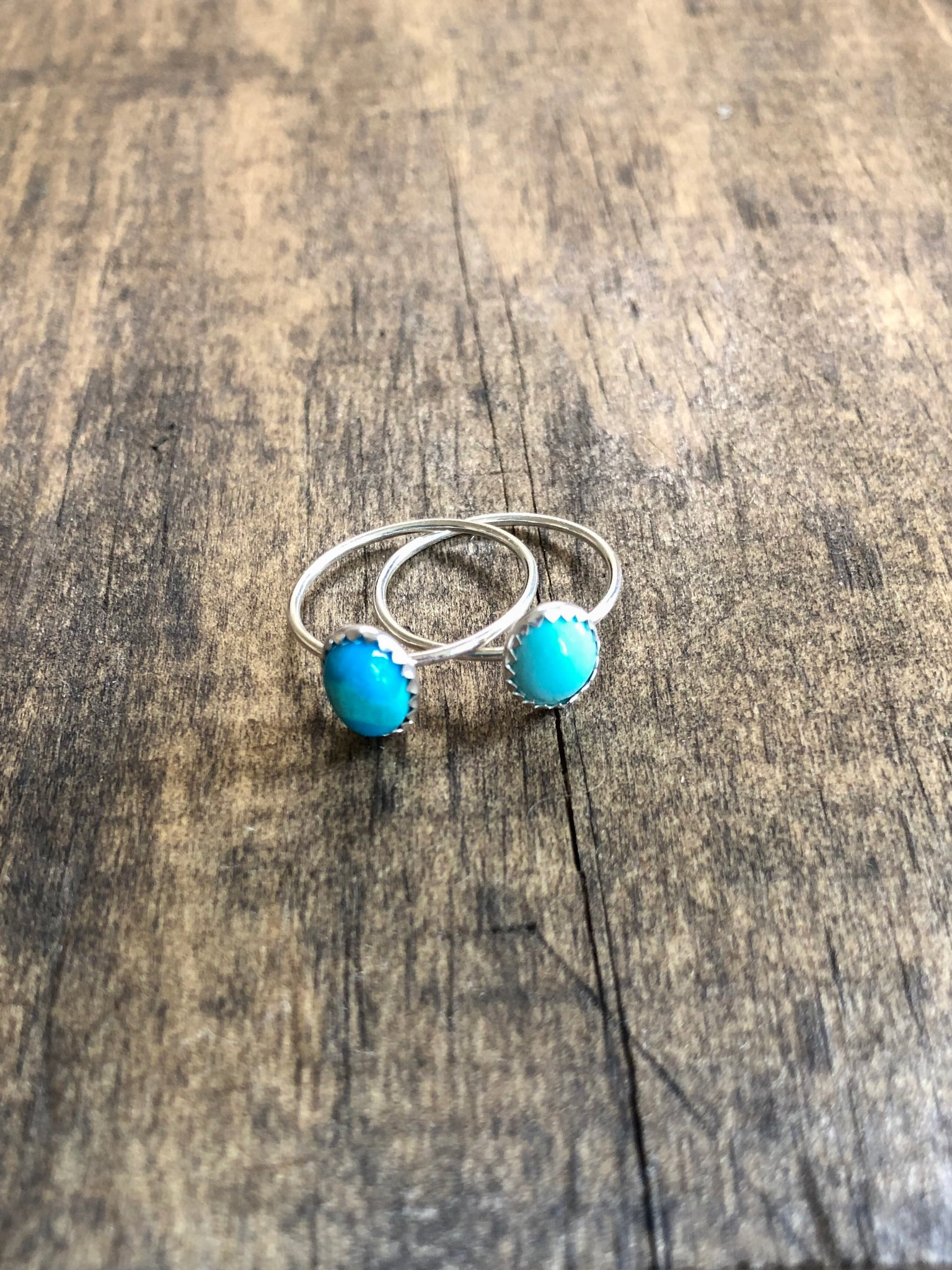 The Turquoise Stacking Ring