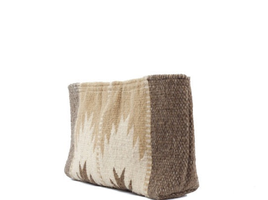Sierra Norte Wool Clutch by MZ Fair Trade