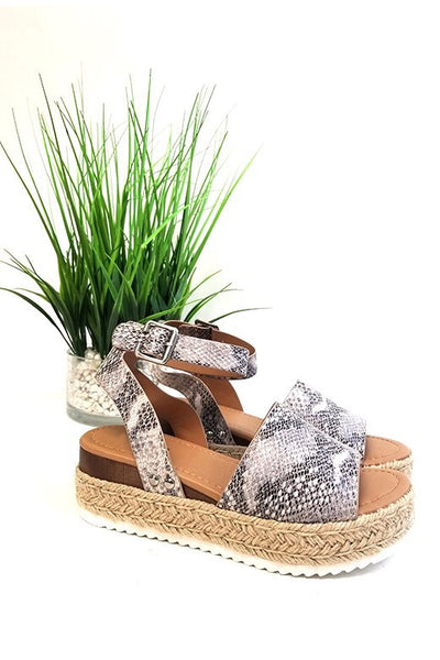 The Espadrille Sandals Snake